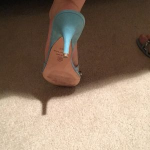 """Ann Taylor Shoes - Ann Taylor slip on shoes with 2.5"""""""